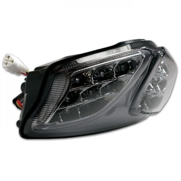 LED zadní světlo Suzuki GSX-R 600 / 750 (08-15), GSX-R 1000 (09-15), kouřové