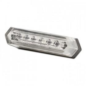 Mini LED zadní světlo bez osvětlení SPZ, rozměry 50x18x20mm, čiré
