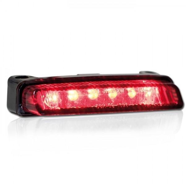 LED zadní světlo BLADE SMOKE, bez osvětlení SPZ, kouřové