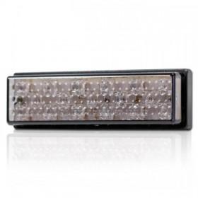 LED zadní světlo SUPERFLAT 2, nalepovací, bez osvětlení SPZ, kouřové