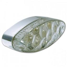 LED zadní světlo GROOVE, bez osvětlení SPZ, čiré