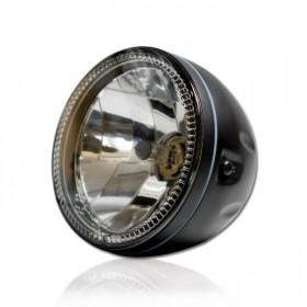 """Přední hlavní světlo čiré s CCFL parkovacím světlem, 5 3/4"""", H4 60/55W, černé"""