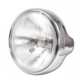 """Přední hlavní světlo LTD STYLE s parkovacím světlem, 7"""", H4, chrom"""