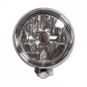 """Přední hlavní světlo čiré s parkovacím světlem, 5 1/4"""", HS1, chrom"""