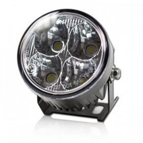 LED světlo pro denní svícení, čiré, Ø 70mm, včetně držáku