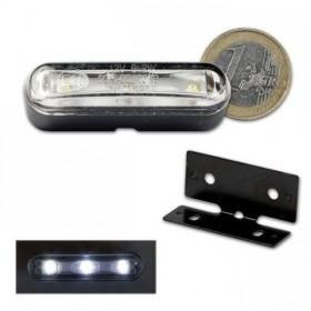 LED osvětlení SPZ / parkovací světlo, samolepící, včetně držáku