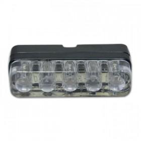 LED osvětlení SPZ, ICE, černé, 38 x 10 x 18 mm, včetně držáku