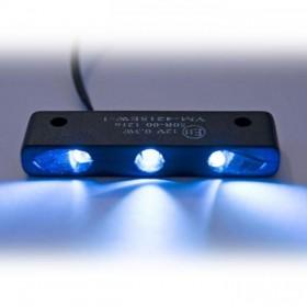 LED osvětlení SPZ , černé, 44 x 7 x 12 mm