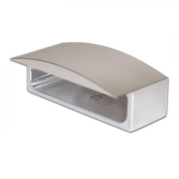 Domeček pro LED osvětlení SPZ, HS-284344, stříbrný