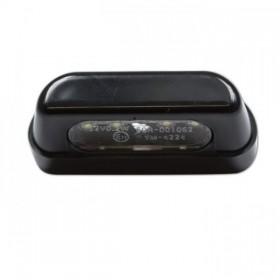 LED osvětlení SPZ, černé, plastové, 55 x 19 x 26 mm