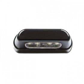 LED osvětlení SPZ, černé, hliníkové, 55 x 19 x 26 mm