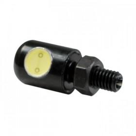 LED osvětlení SPZ POWER LED černé, Ø 13 x 30 mm