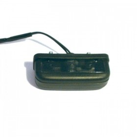 Osvětlení SPZ, černé, obdelníkové, plastové, 85 x 29 mm