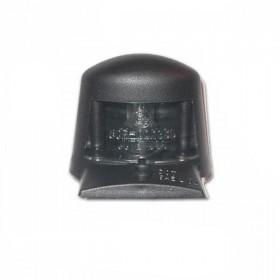 Osvětlení SPZ, černé, plastové, 55 x 45 mm