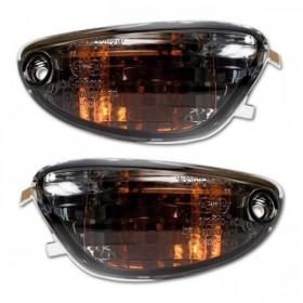 Blinkry SUZUKI GSX-R 600 (06-13), GSX-R 750 (07-13), přední, kouřové (2ks-pár)