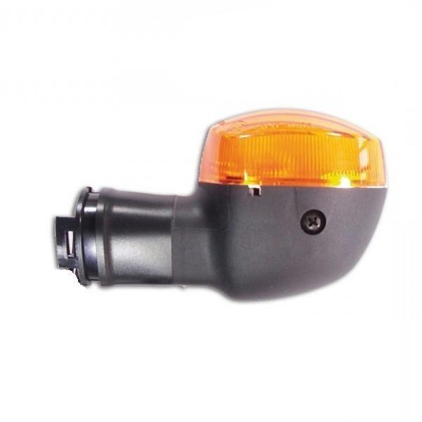 Blinkr YAMAHA YZF R1, YZF R6, FZ1, oranžové sklo, černý (1ks)
