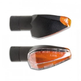 Blinkry PEAK CLEAR, černé (pár - 2ks)