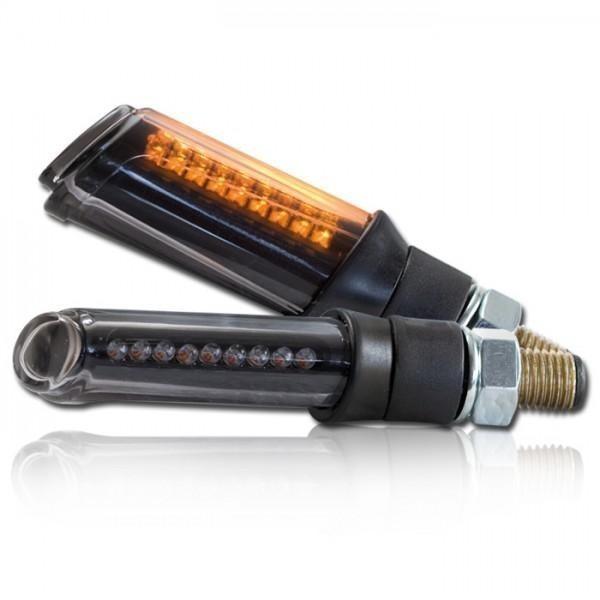 LED blinkry SHAFT SMOKE, černé (pár - 2ks)