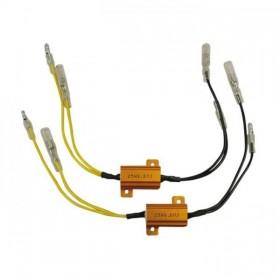Odpory pro LED blinkry, 6,8 Ohm / 25 W, (2ks-par)