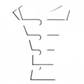 Tankpad Keiti KT 1200, transparentní, délka 21,5 cm, šířka 17,5 cm