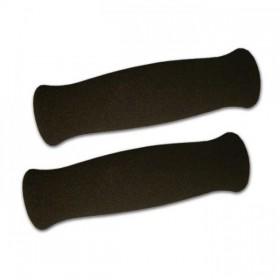 """Rukojeti BAJA pěnové, 7/8"""" (22mm), včetně lepidla, otevřené konce, délka 130 mm, (pár-2ks)"""
