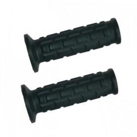 """Rukojeti 190, gumové, 7/8"""" (22mm), uzavřené konce, délka 105 mm, (pár-2ks)"""