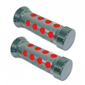 """Rukojeti SATELLIT, hliník / pěna, uzavřené 7/8"""" (22mm), délka 135 mm, (2ks-pár)"""
