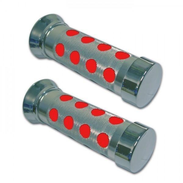 Rukojeti SATELLIT, hliník / pěna, uzavřené 22 mm, délka 135 mm, (2ks-pár)