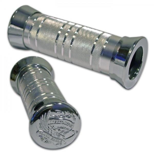 Rukojeti SPIRIT, hliník, uzavřené 22 mm, délka 135 mm, (2ks-pár)