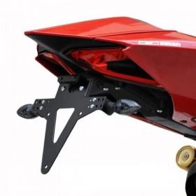 Držák SPZ Ducati Panigale 899 / 1199 / 1299, R / S, nastavitelný, černý