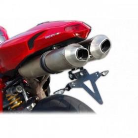 Držák SPZ Ducati 848 / 1098 / 1198, nastavitelný, černý