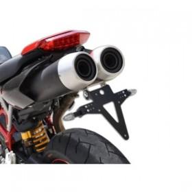 Držák SPZ Ducati Hypermotard 796, 1100 / S EVO / SP, (2007-2012), nastavitelný, černý