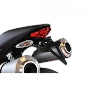 Držák SPZ Ducati Monster 696, (2008-2014), nastavitelný, černý