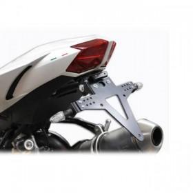 Držák SPZ Ducati Streetfighter 848 / 1098 / S, nastavitelný, černý