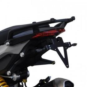 Držák SPZ Ducati Hypermotard / Hyper Strada, 821 / 939 / SP, nastavitelný, černý