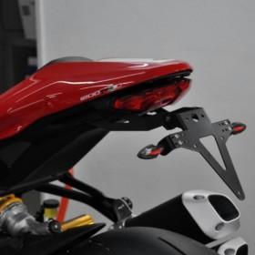 Držák SPZ Ducati Monster 1200 R, nastavitelný, černý