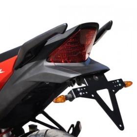 Držák SPZ Honda CBR 125 R /  CBR 250 R, (2011-2016), nastavitelný, černý