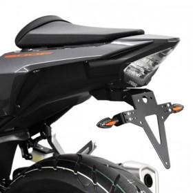 Držák SPZ Honda CB 500 F / CBR 500 R, (2016-2018), nastavitelný, černý