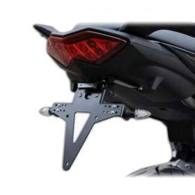 Držák SPZ Kawasaki Versys 650 (2010-2014), nastavitelný, černý