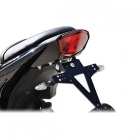 Držák SPZ Kawasaki ZX-250 R, (2008-2012), nastavitelný, černý