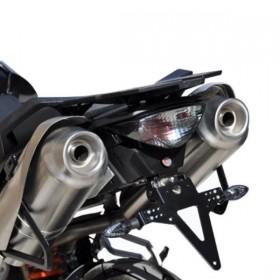 Držák SPZ KTM Supermoto 950 SMT, (2009-2012) / 990 SMR, (2008-2013), nastavitelný, černý