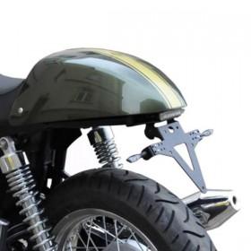 Držák SPZ Triumph Thruxton 900 / Bonneville / Scrambler, nastavitelný, černý