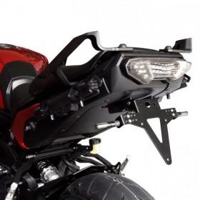 Držák SPZ Yamaha MT-09 Tracer, (2015-2016), nastavitelný, černý