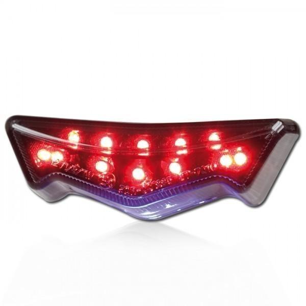 LED zadní světlo JOKER, s osvětlením SPZ, kouřové