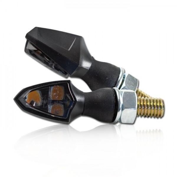SMD LED blinkry SHIELD SMOKE, černé (pár - 2ks)