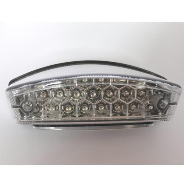 LED zadní světlo MONSTER, s osvětlením SPZ, čiré