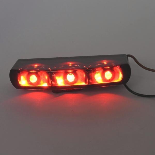 LED zadní světlo VETRO SMOKE, bez osvětlení SPZ, kouřové