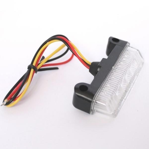 LED zadní světlo BLADE CLEAR, bez osvětlení SPZ, čiré