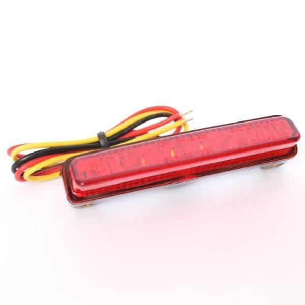 LED zadní světlo BLADE RED, bez osvětlení SPZ, červené