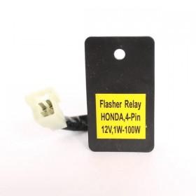 Přerušovač LED blinkrů HONDA, čtyřpólový, 12V / 1-100W